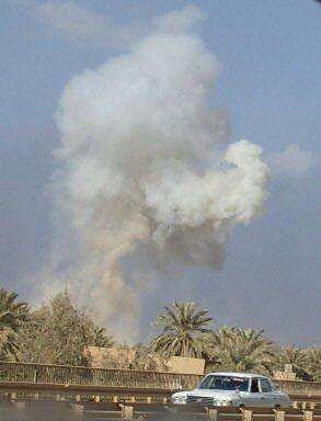 Bagdad pod ogniem