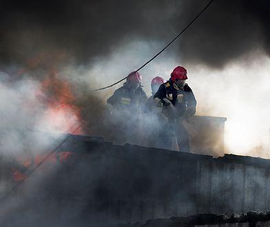 Dramat pod Słupskiem. Budynek zapłonął jak zapałka