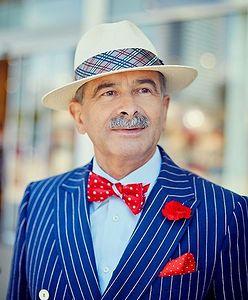 Jan Adamski. 63-letni bloger podbija Instagram