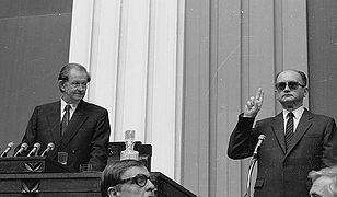 Gen. Wojciech Jaruzelski prezydentem. Wygrał dzięki przewadze jednego głosu