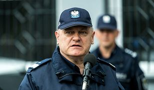 Zastępca Komendanta Głównego Policji Jan Lach trafił do szpitala po Marszu Niepodległości
