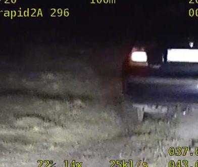 Szalona ucieczka pod Sandomierzem. Pościg w stylu off road i 2,5 promila