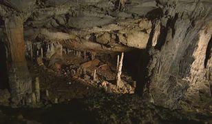 Wnętrze jaskini La Garma.