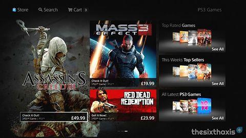 Nowe szaty PlayStation Store