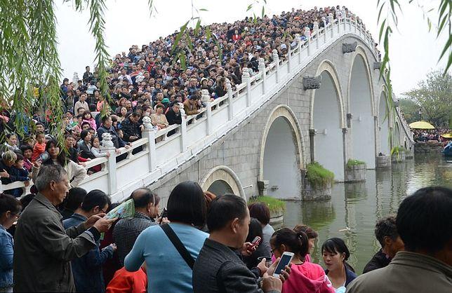 Podczas Złotego Tygodnia ok. 700 mln z 1,4 mld obywateli Państwa Środka udało się w podroż po kraju.