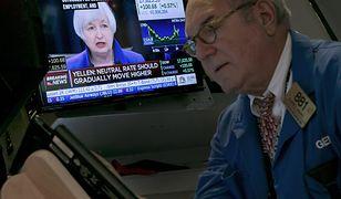 Oczy inwestorów zwrócone są na szefową Fed. Janet Yellen wieczorem ogłosi decyzję.