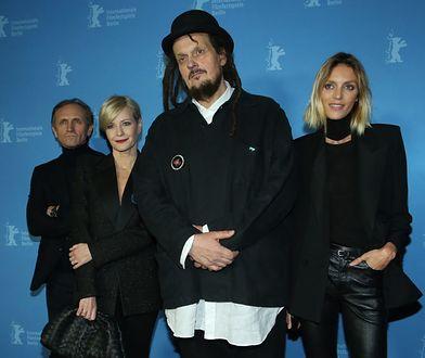 Andrzej Chyra, Małgorzata Kożuchowska, Mariusz Wilczyński i Anja Rubik podczas premiery filmu na Berlinale