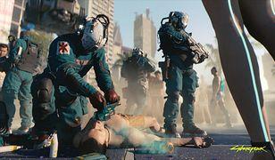 """Cyberpunk 2077"" - screeny z gry"