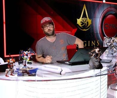 """#CTRL 2 - gramy w """"Assassin's Creed Origins"""" i wszystko o Gundamach"""