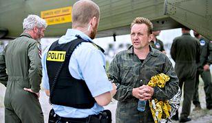 Peter Madsen tuż po ewakuacji z jego łodzi podwodnej, na której zginęła Kim Wall