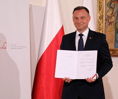 Andrzej Duda podpisał ustawę dotyczącą nowego odznaczenia państwowego