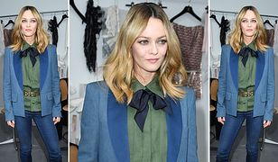 LOOK OF THE DAY: Vanessa Paradis w stylu lat 70.