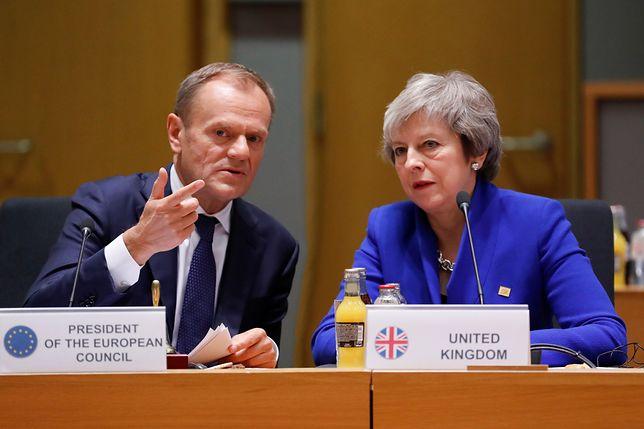 Donald Tusk szybko pozbawił złudzeń Theresę May