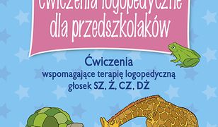 Obrazkowe ćwiczenia logopedyczne dla przedszkolaków SZ, Ż, CZ, DŻ