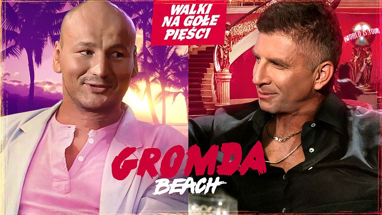 Szpilka i Borek gotowi na GROMDA Beach: Walki na gołe pięści. Nadciąga fala nokautów!