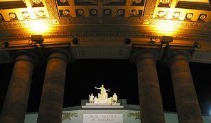 Wszystko działo się w teatrze San Carlo w Neapolu