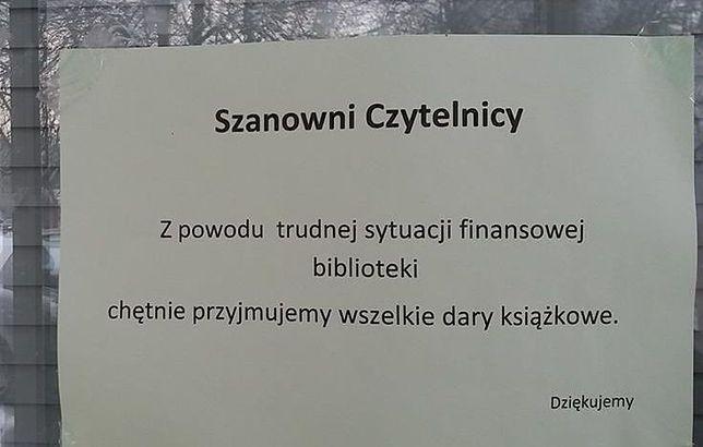 Przynieś książkę i pomóż uratować bibliotekę!
