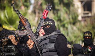 Dżihadyści z palestyńskiej bojówki, czerwiec 2020