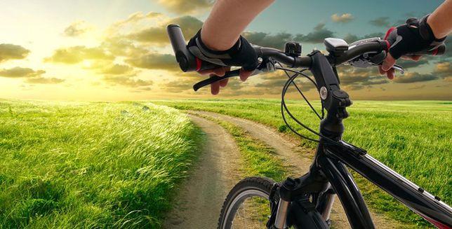 Światło rowerowe latem