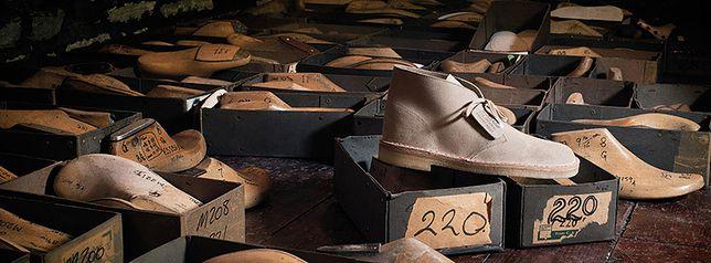 Clarks - kultowy Desert Boot