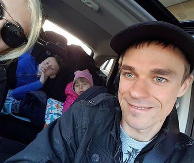 Piotr Żyła z rodziną