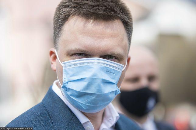 Szymon Hołownia kpi z partii Kaczyńskiego. Zjadliwy komentarz w przekazie na żywo