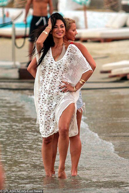 Nicole Scherzinger odpoczywa na greckiej wyspie Mykonos.
