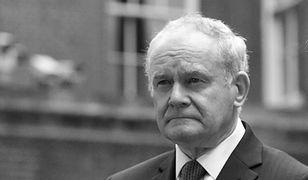Nie żyje Martin McGuinness, jeden z byłych dowódców IRA
