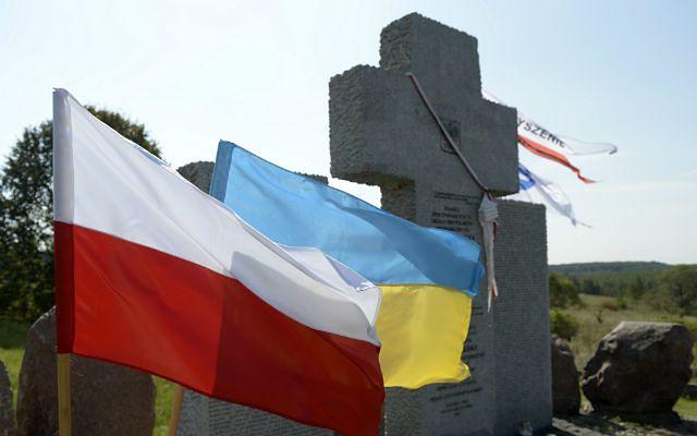 Ukraina. MSZ potępia wandalizm w Hucie Pieniackiej