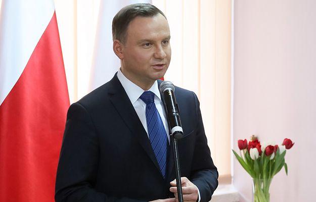 Wykładowca uczelni nie przyjął medalu od prezydenta Andrzeja Dudy
