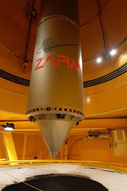 Przy wykorzystaniu ZARM, udało się wytworzyć wodór w mikrograwitacji