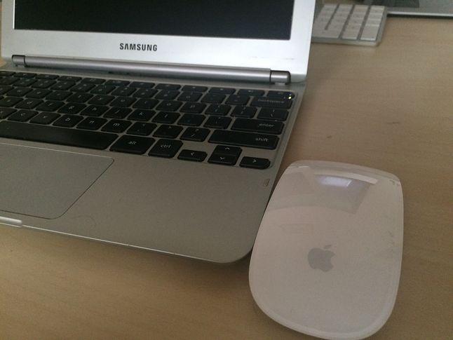 Chrome OS i Apple Magic Mouse. Z tego związku nic nie będzie.