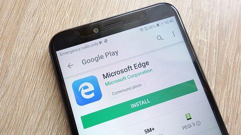 Microsoft Edge na Androida z niespodzianką dla osób, które otworzą 100 kart