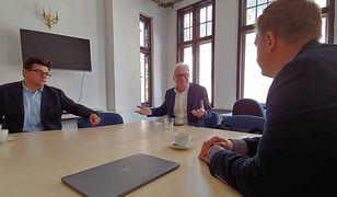 Rozmowa o przyszłości internetu. Europoseł Zwiefka, Wykop, Grupa OLX, Centrum Cyfrowe