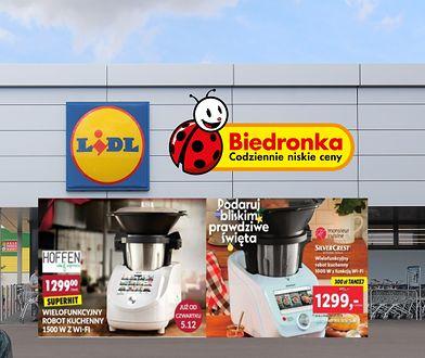 Biedronka i Lidl przygotowały oferty prezentów dla swoich klientów.
