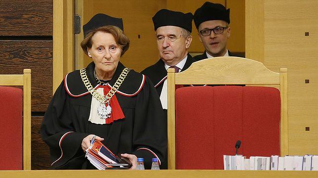Sędziowie TK wybrani za PO, m.in. Marek Zubik i Leon Kieres.