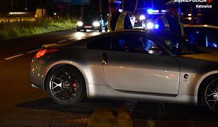 Katowice. Policji udaremniła nielegalne wyścigi uliczne. Plaga wakacyjna