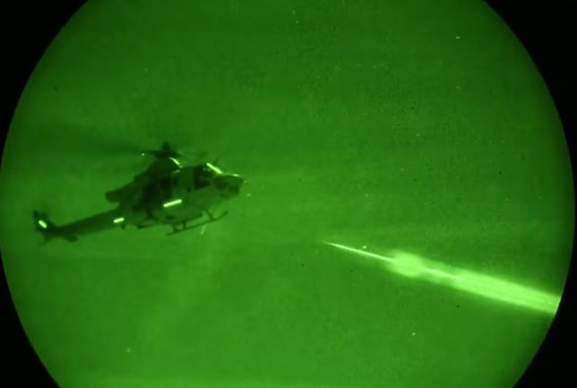Helikoptery są dobrym wsparciem dla piechoty