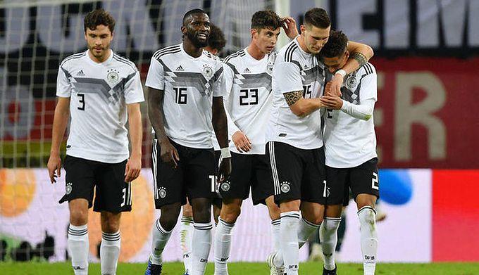 71d6c8915 Getty Images / Stuart Franklin/Bongarts / Na zdjęciu: piłkarze  reprezentacji Niemiec