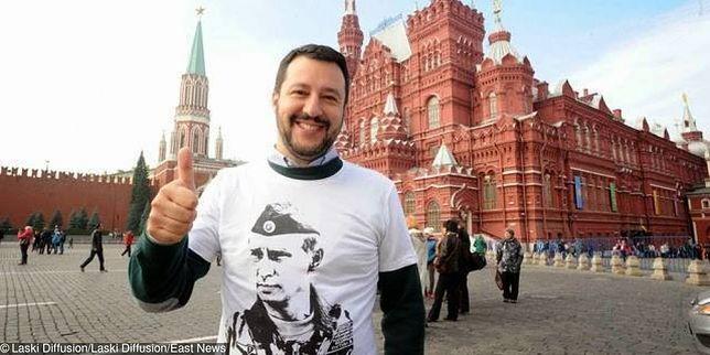 Tajne przelewy z Rosji dla partii wicepremiera Włoch? Salvini: będzie pozew