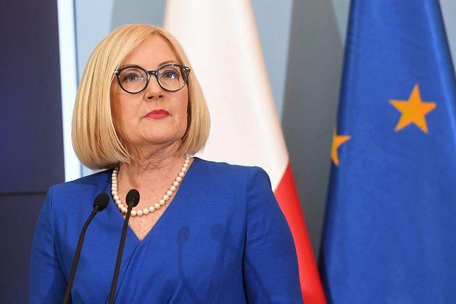 Joanna Kopcińska o przeprosinach szefa ZNP: maska opadła