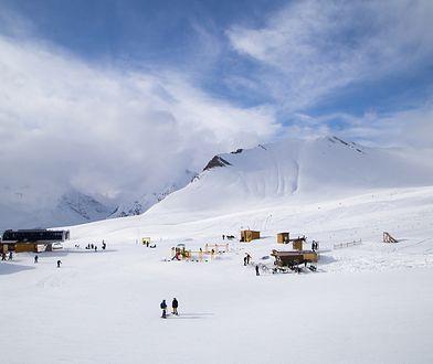 Gudauri to położony w górach Kaukazu kurort
