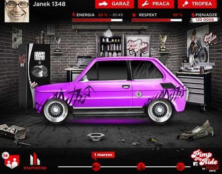 """Zagraj w """"Pimp My Ride by Coca-Cola Zero"""" i odpicuj swoją wirtualną brykę!"""
