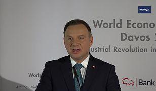 """""""Mamy potencjał, by tworzyć innowacje"""". Prezydent Duda w Davos"""
