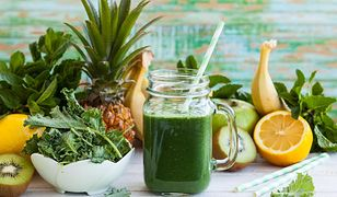 Zielone koktajle są supermodne i niezwykle zdrowe