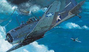 """""""Wielkie bitwy morskie – Midway"""", scen. Jean-Yves Delittie, rys. Giuseppe Baiguera"""