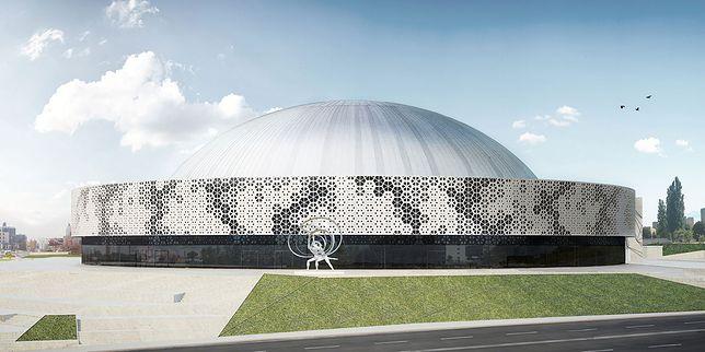 Projekt modernizacji hali został wybrany w konkursie architektonicznym w 2016 r.
