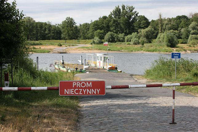 Przeprawy promowe Połęcko, Pomorsko, Brody, Milsko są zamknięte (zdjęcie ilustracyjne z ubiegłego roku)