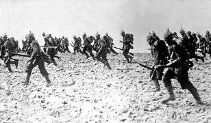 Niemiecka piechota w sierpniu 1914 roku