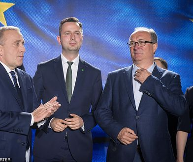 Wybory do Europarlamentu 2019. Grzegorz Schetyna, Władysław Kosiniak-Kamysz, Włodzimierz Czarzasty.